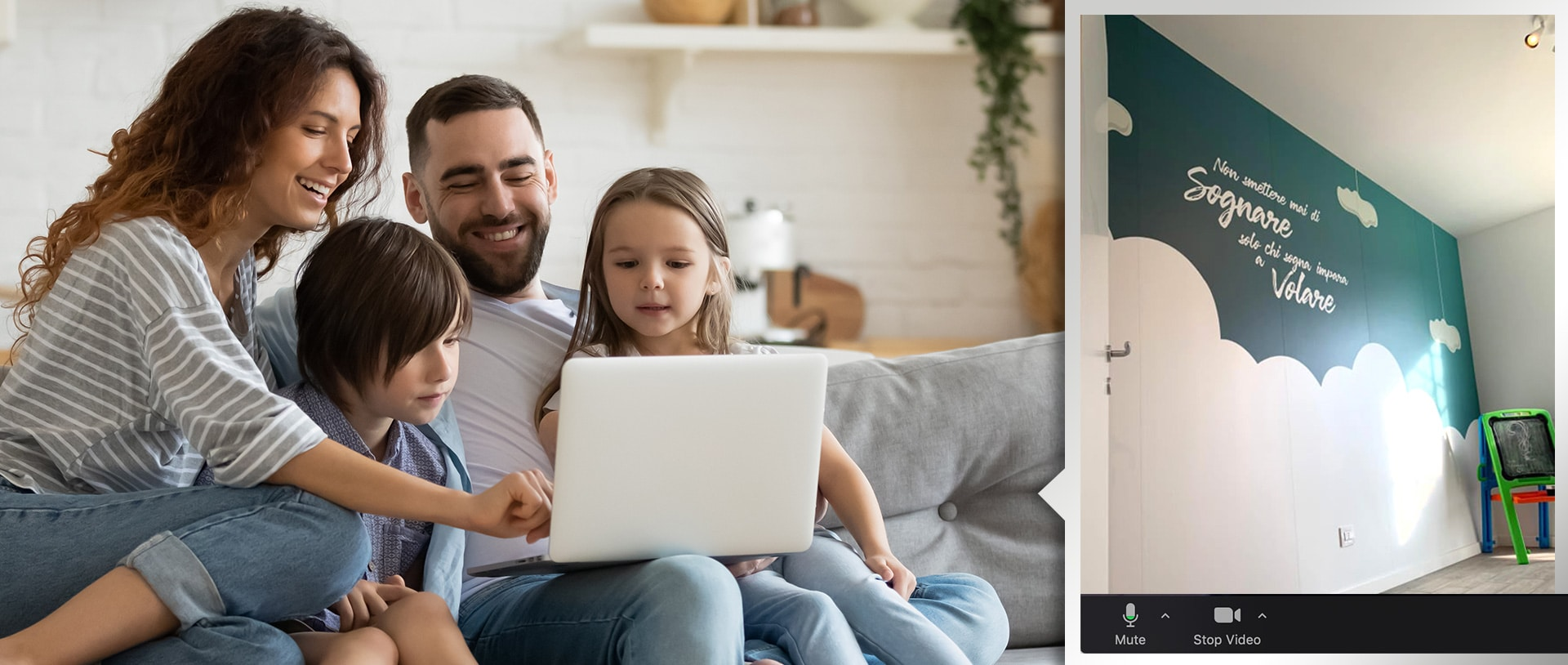 visita appartamento online