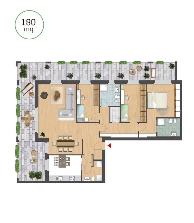 Appartamento_180mq_letorridisantambrogio