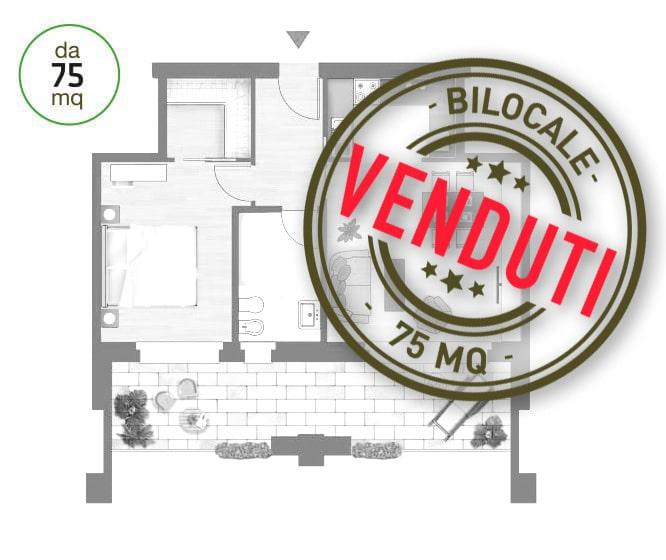 Bilocale 75 mq Monza tutti venduti